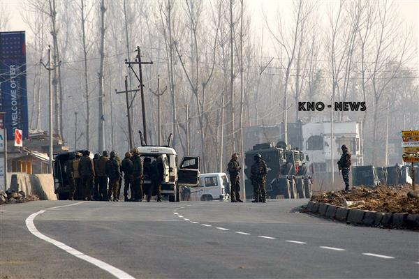 Shopian Encounter : Four militants and one Para commando killed : Army  | KNO