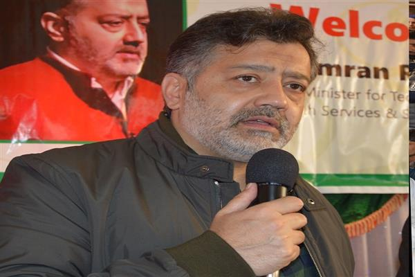 Former PDP leader Imran Ansari joins People's Conference, Lone Welcomes into Party Fold