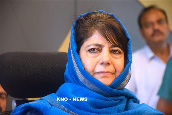 Don't allow hawks to disrupt the process, Mehbooba tells PM Modi