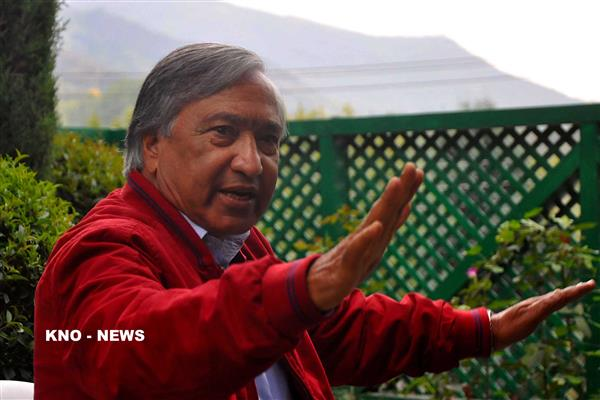 "Return to its ""no talks"" stance underscore contradictory stand of Modi Govt: Tarigami 