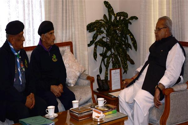 State Chief Commissioner Bharat Scouts and Guides meets Governor | KNO
