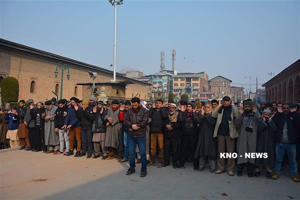 Pulwama killings: JKLF leaders, activists offer funeral prayers in absentia | KNO