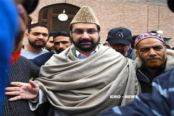 Mirwaiz expresses grief over demise of Manzoor Anjum's mother | KNO