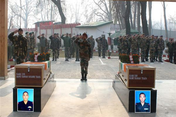 Army pays tribute to its slain soldiers | KNO
