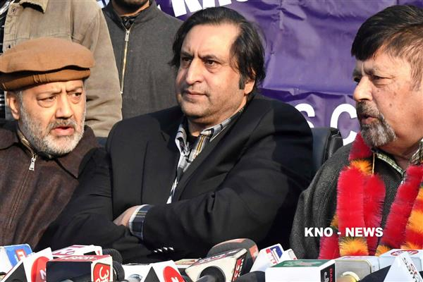 Sajjad challenges political parties to get votes from 80 per cent voters in upcoming elections | KNO