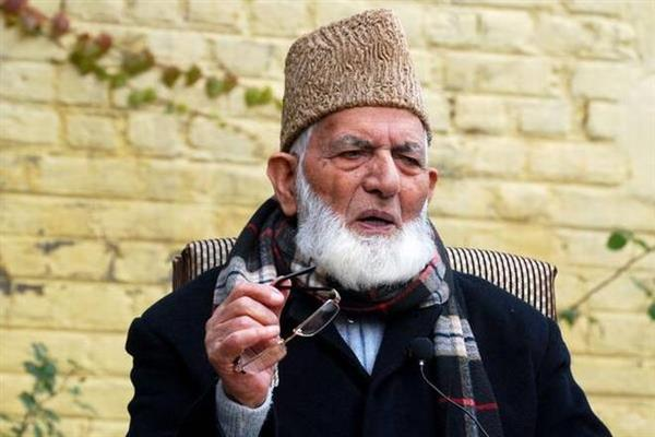 Youth sacrificing precious lives for sacred cause of freedom: Geelani | KNO