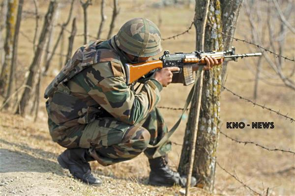 Encounter rages in Rajpora belt of Pulwama | KNO