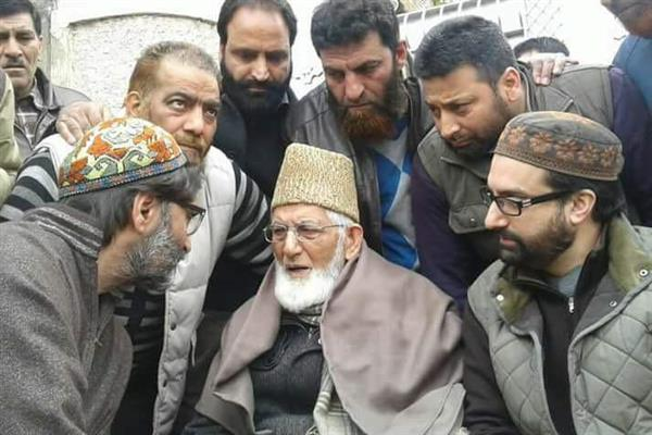Geelani, Mirwaiz, Malik hold meet at Hyderpora | KNO