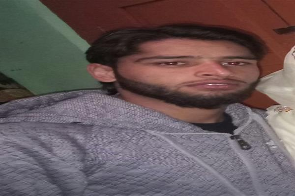 Sopore youth goes missing, family seeks help | KNO