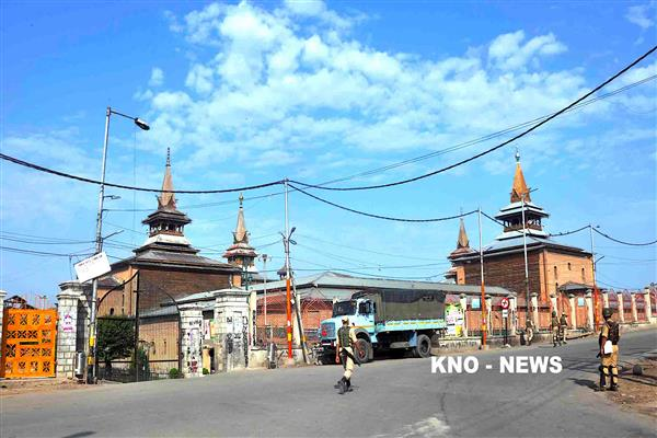 JRL's programme at Jamia Masjid: No restrictions tomorrow | KNO