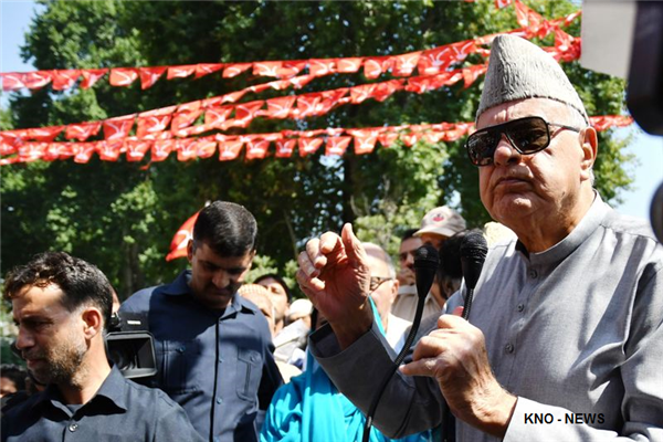 NC will emerge victorious in upcoming elections: Dr Farooq | KNO