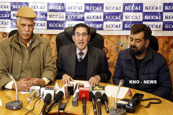Kashmir's business community Kashmir always prepared to protect our heritage: KCC&I | KNO