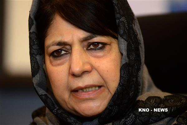 Had put forth conditions for BJP-PDP Govt, was not with alliance:  Mehbooba | KNO