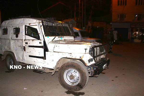 Panic in Tral as forces fire in air after observing suspicious movement | KNO