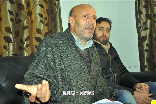 Problem in Kashmir is state terrorism: Er Rasheed over Guv's remarks | KNO