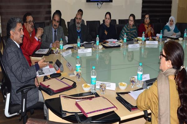 Advisor Ganai chairs JKWDC's 24th BoDs meeting | KNO