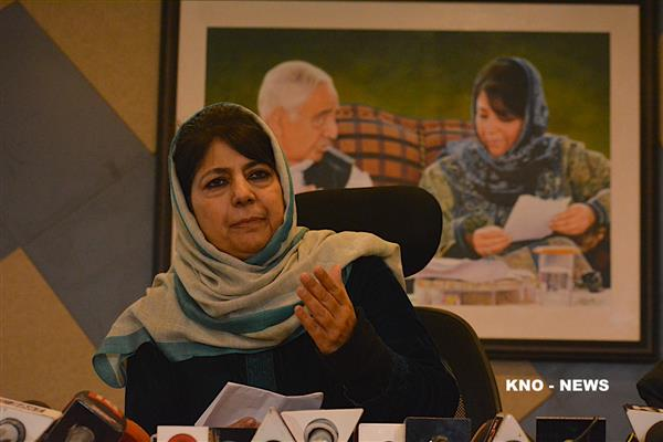 Mehbooba Mufti pitches for 'talks with militants' | KNO