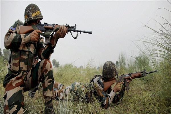 India Pakistan armies exchange gunfire in Poonch | KNO