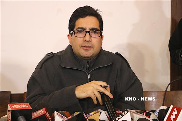 Events led to exodus of Kashmir Pandits blot on our history: Shah Faesal | KNO