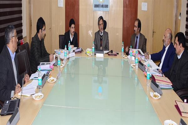 Advisor Ganai reviews stock, supply position of LPG, Petroleum products in state | KNO