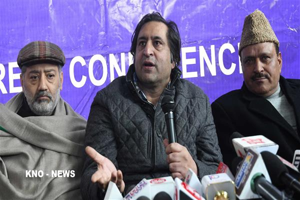 Gani Vakil's joining of PC will effect drastic change in state politics: Sajad Lone | KNO