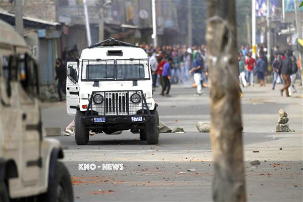 Clashes during CASO in Pulwama village | KNO