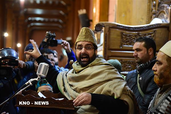 Give up obduracy, address dispute, save lives of youth: Mirwaiz to GoI | KNO
