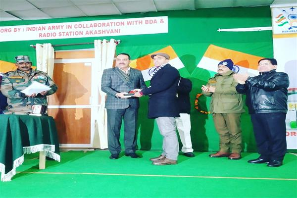 KNO scribe felicitated in Bhaderwah | KNO