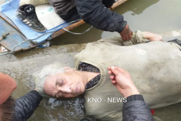 Elderly woman's body recovered from Jhelum in Chattabal Srinagar | KNO