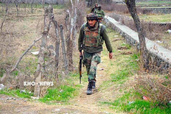 Forces lay siege in Thokerpora Shopian | KNO