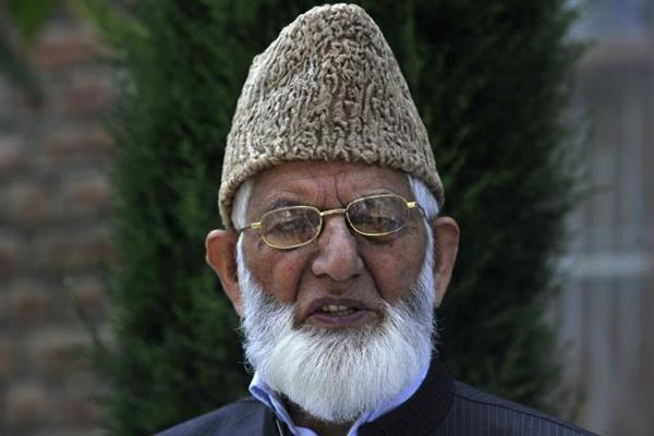 Geelani condoles demise of maternal uncle of jailed Dr. Bhat | KNO