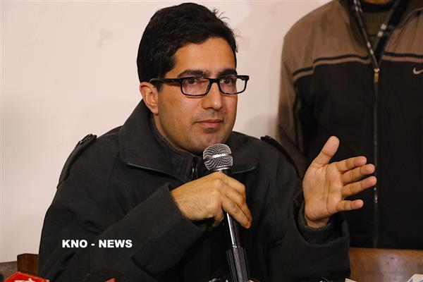 Joined politics to represent those laying sacrifices for Kashmir cause : Shah Faesal | KNO