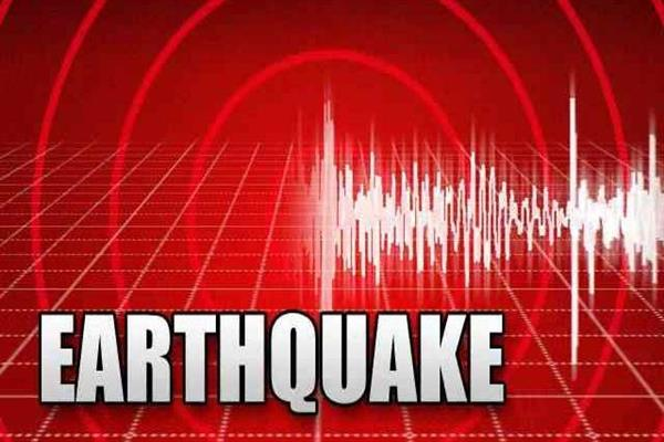5.5 magnitude of earthquake jolts kashmir | KNO