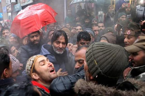 JRL rallies against 'plight' of inmates, police detains Malik, others | KNO