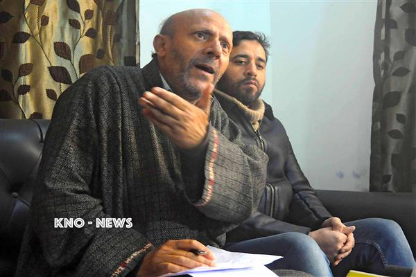 New Delhi's ultimate aim is trifurcation of state: Er. Rasheed | KNO