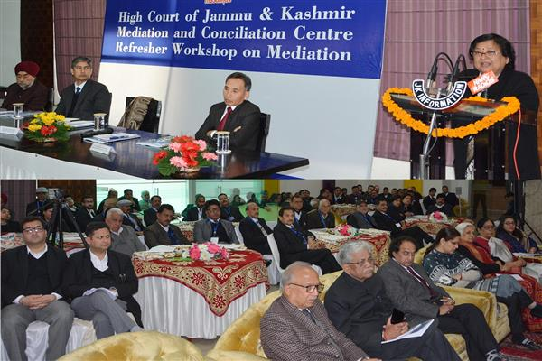 Mediation leads to expeditious disposal of cases, cuts delays: Chief Justice | KNO