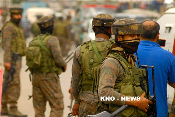 Forces lay siege over Sofigund Tral | KNO