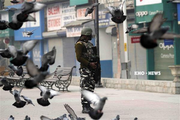 Article 35 A row: Kashmir on edge again as hearing nears | KNO