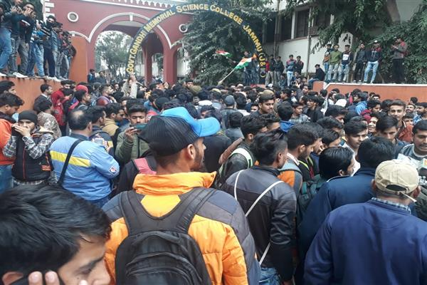 Students who attacked valley bound passengers threaten stir if demands not met in two days | KNO