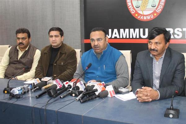 JCCI blames anti-national elements for vitiating peaceful atmosphere | KNO