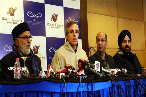 Kashmiri were targeted systematically under a conspiracy outside Valley: Omar | KNO