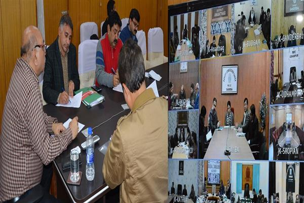 Advisor Skandan reviews progress of PM-KISAN registration process | KNO