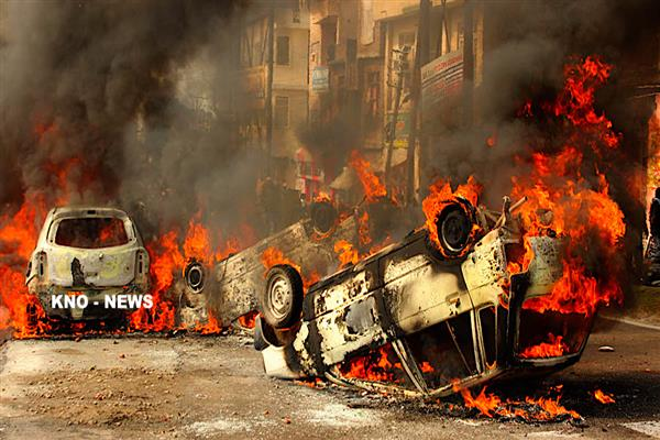 53 vehicles, 6 houses heavily damaged during Jammu protests, reveals FIR copy | KNO