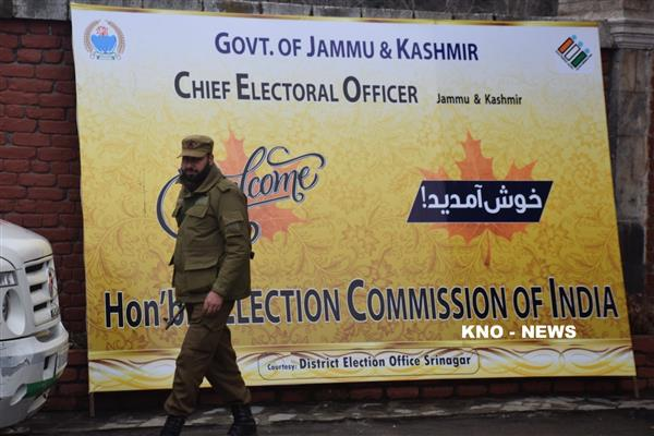 Election Commission of India arrives on 2-day JK visit | KNO