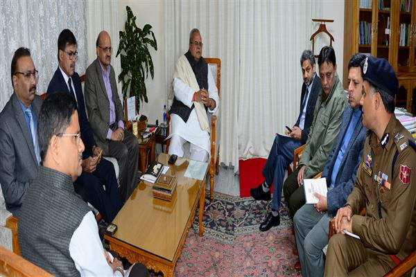 Jammu blast: Governor reviews Law & Order situation | KNO
