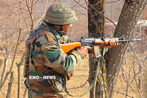 Forces launch search operation in Sopore village | KNO