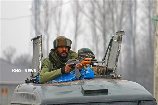Brief shoot out at Kulgam, militants flee, searches on | KNO
