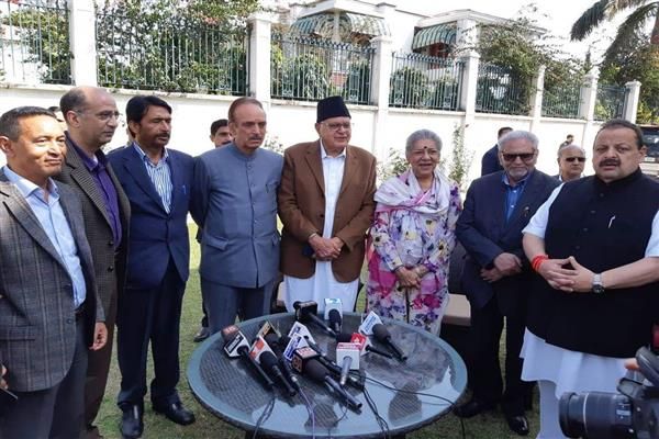 NC-Cong announces seat sharing arrangement for 6 LS constituencies in JK | KNO