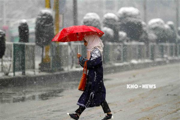 Fresh snowfall, overnight rains bring chill back to Valley | KNO