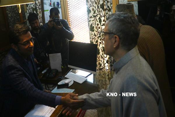 Three nominations filed for Srinagar Parliamentary Constituency | KNO